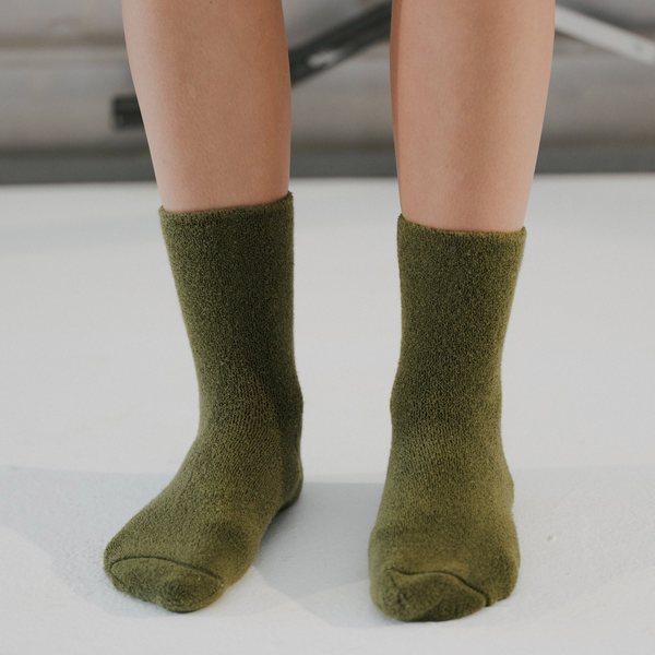 Baserange Buckle Overankle Socks - Maple Green