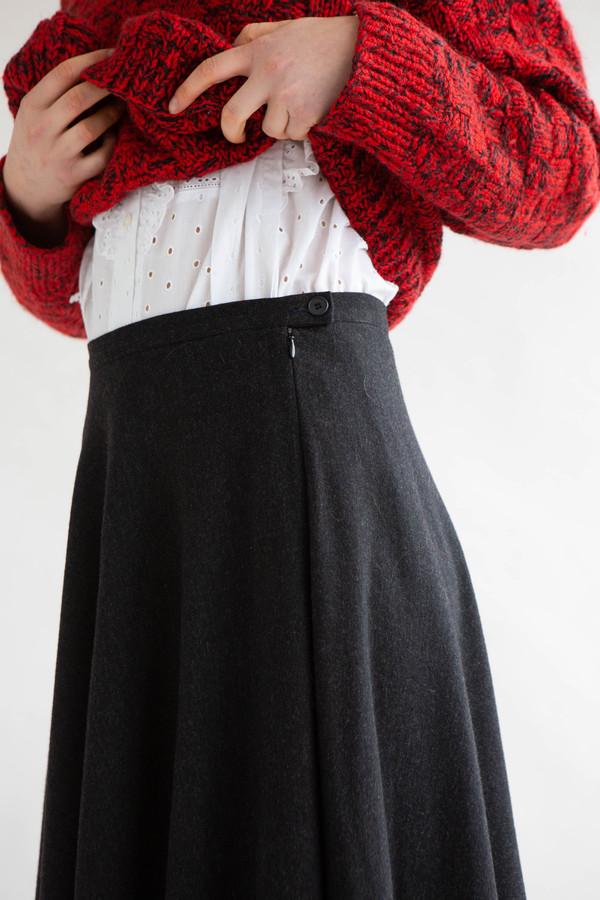 B57 YSL wool skirt