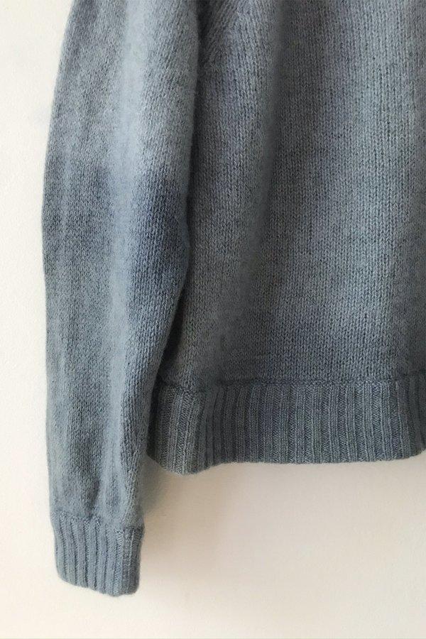 M.Patmos Crewneck Cashmere Sweater - Medium Indigo