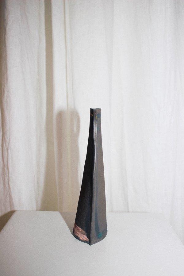 Alison Owen Double Handle Vase - Pink/Yellow