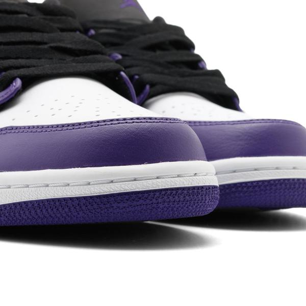Jordan 1 Low Court Purple / Black
