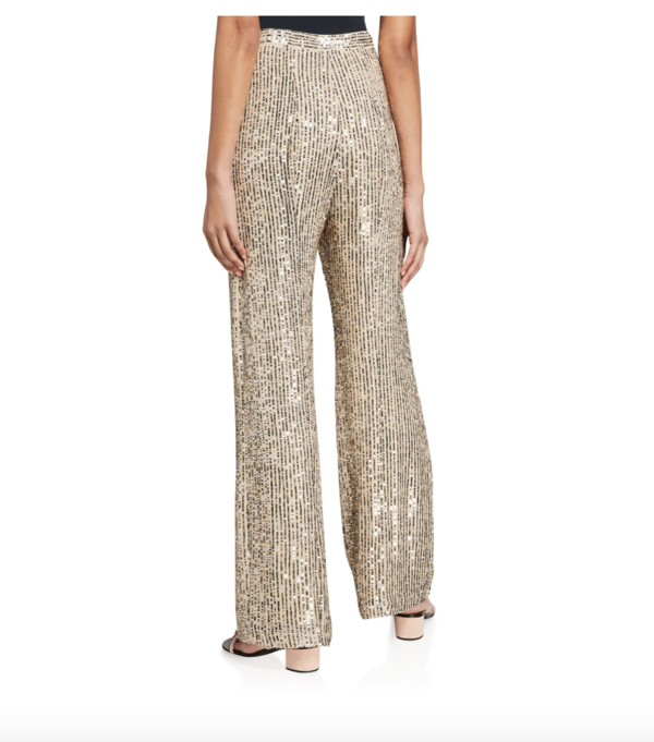 Le Superbe Bianca Sequin Pant - Golden Hour