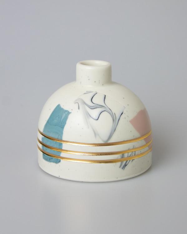 Eliana Bernard Terrazzo Bottle Bud Vase