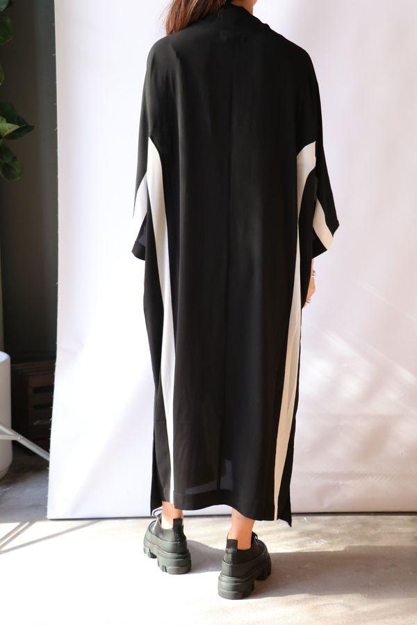 Henrik Vibskov Time Dress - Black/White