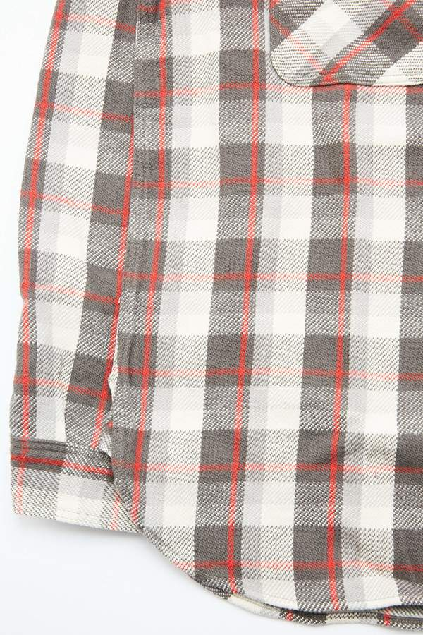 Warehouse & Co. Lot 3104 Flannel Shirt - Charcoal/One Wash
