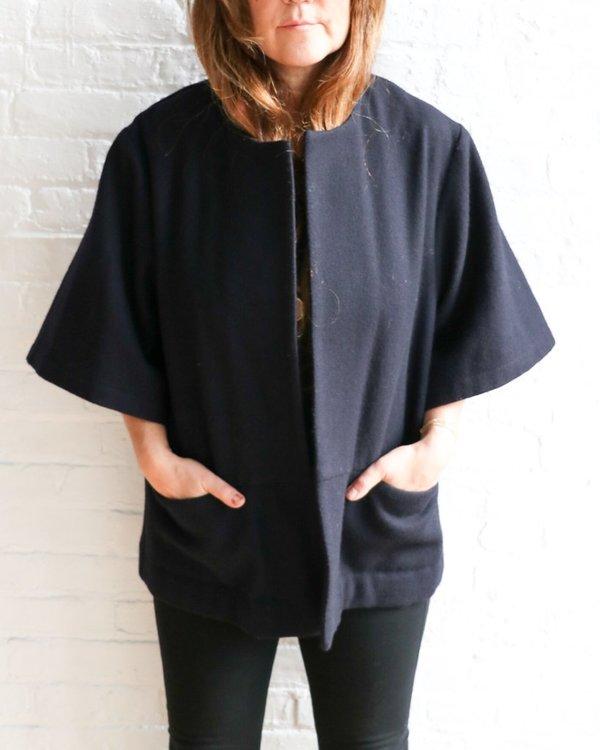 Wolcott : Takemoto Wool Layering Coat, Size S