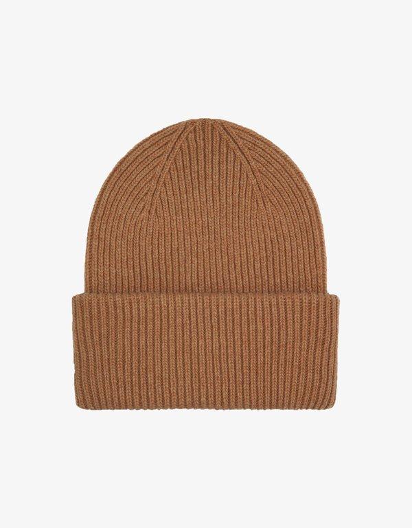 Unisex Colorful Standard Merino Wool Hat - Sahara Camel