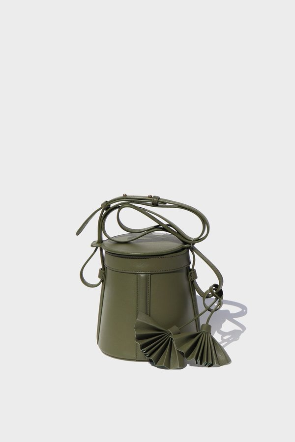 Petite A-Line Bucket | Creme