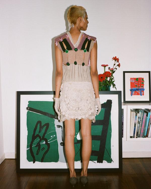 Sydney Pimbley 1960s Girl Guide Knit