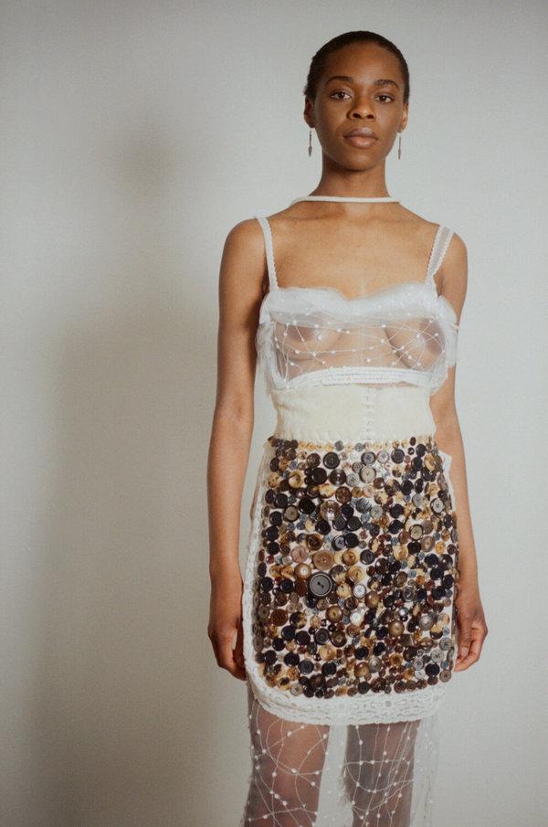 Sydney Pimbley Snowy Dress - White