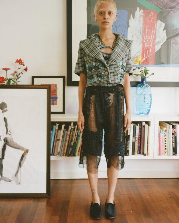 Vintage Lace Shorts