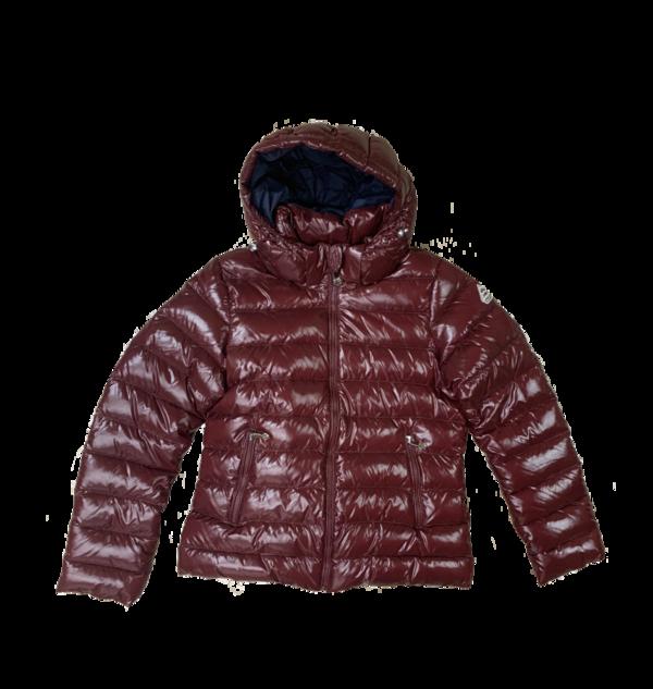 Spoutnic Shiny Down Jacket, Burgundy