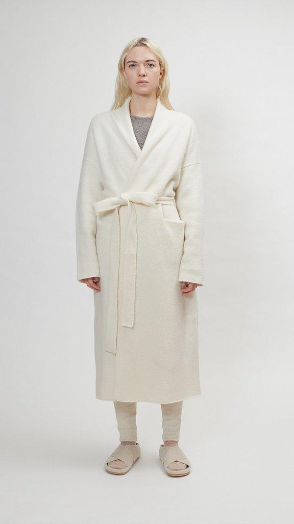 Lauren Manoogian Cashmere New Robe Coat - White