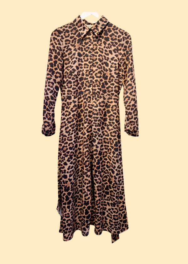 Pre-Loved dress - Leopard print