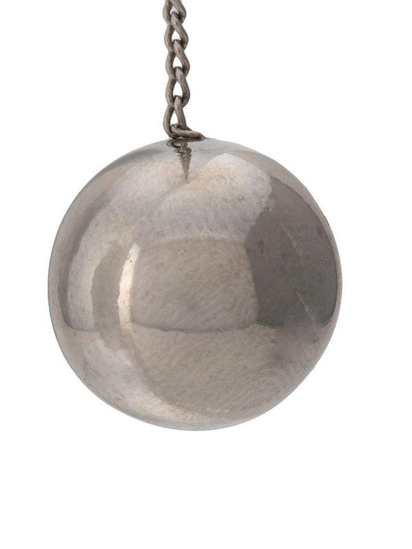 Ball Pendant Long Earrings