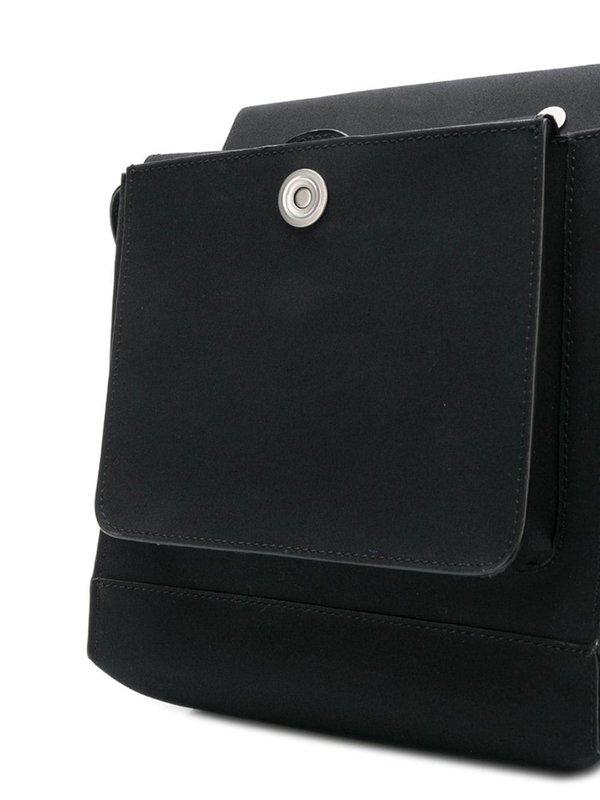 Black Bonded Cotton 0004 Pouch