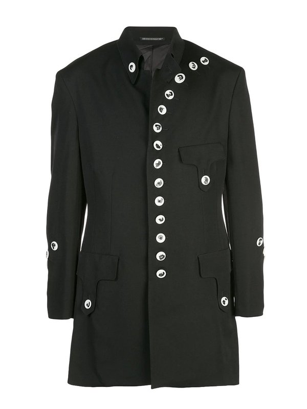 Buttoned Up Military Jacket
