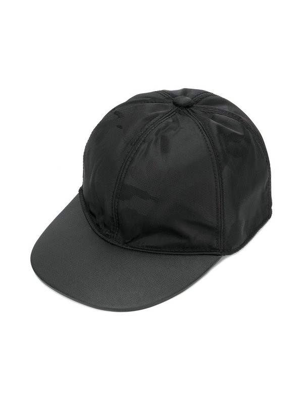Valentino Camouflage Print Cap - black