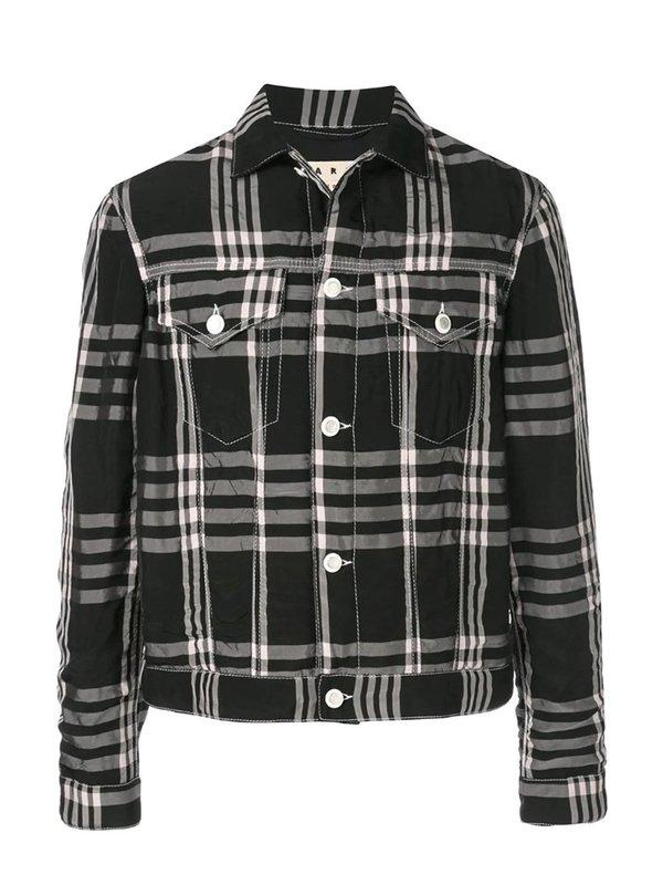 Checked Shirt Jacket