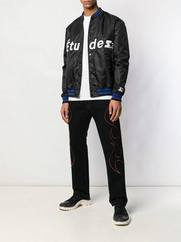 Corner Western Straight-Cut Jeans