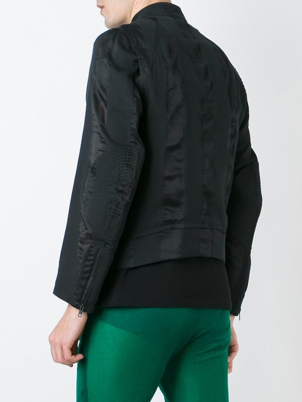 Cotton Silk Removable Lining Jacket Feature