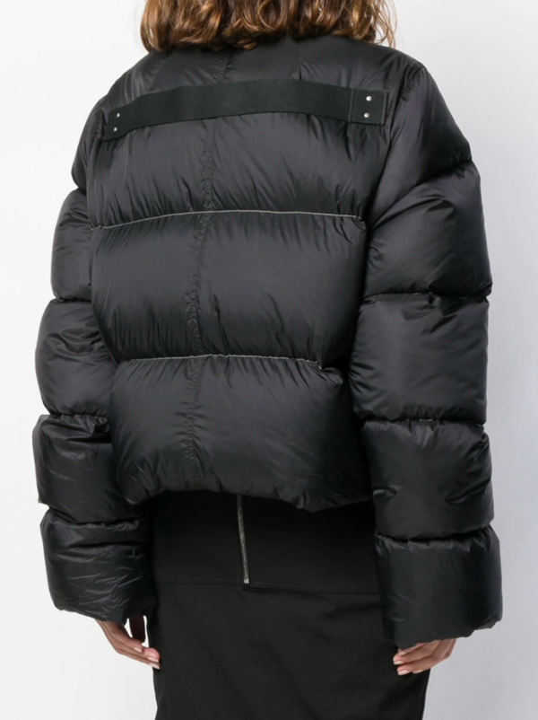 Cropped Duvet Puffer Jacket