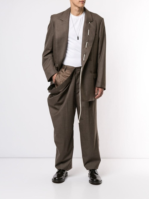 Draped Side Trousers