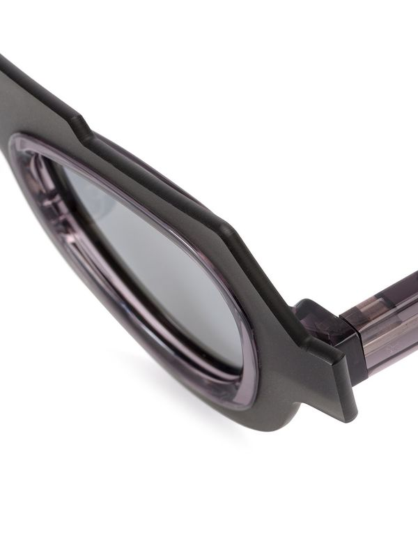 Unisex Kuboraum E5 Sunglasses - Grey/Silver