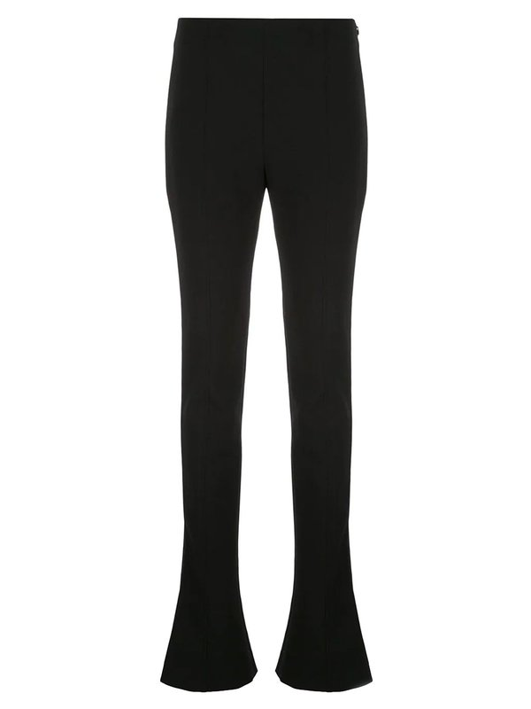 Extra-Long Flared Bottom Trousers