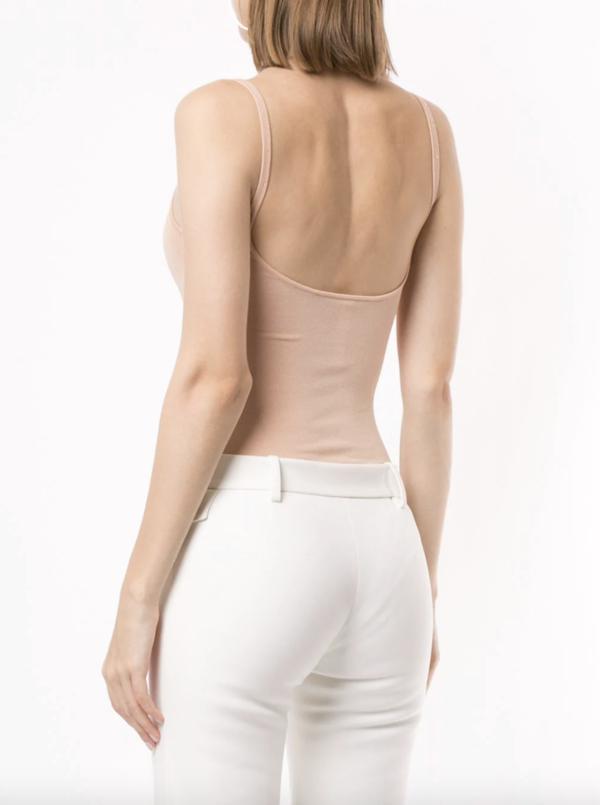 Dion Lee Garter Bodysuit - Sandstone Pink