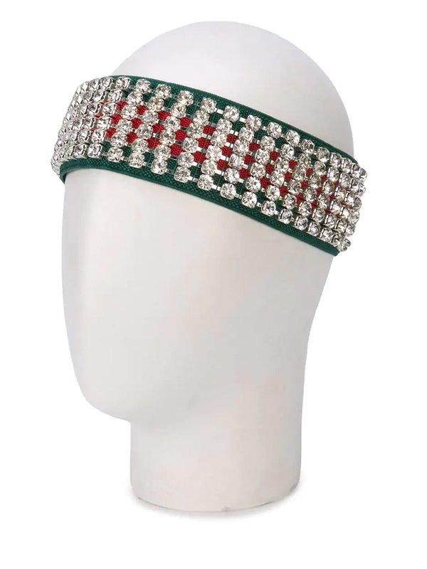 Gucci Vintage Crystal Headband
