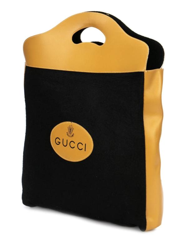 Gucci Vintage Logo Tote Bag