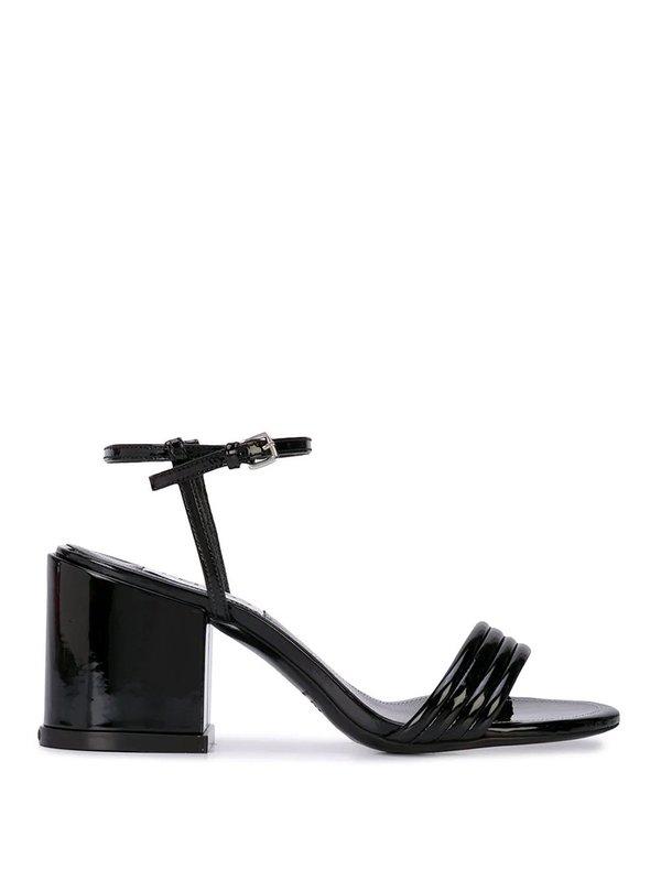 Kenzo Heeled Sandals - Black