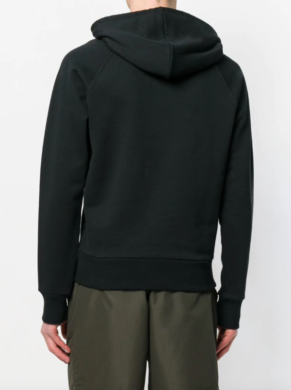 Hoodie With Patch Smiley