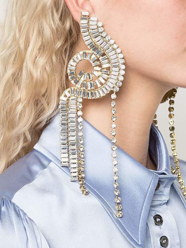 Humanity Crystal Earrings