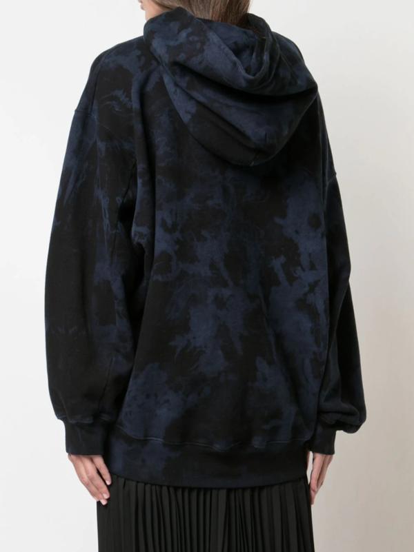 Ink Blotch Hooded Sweatshirt