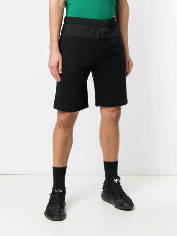 Kenzo Knit Track Short - Black