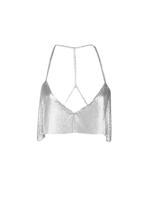Lily Top Silver