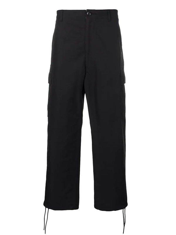 JUNYA WATANABE MAN Loose Fit Cargo Trousers - black