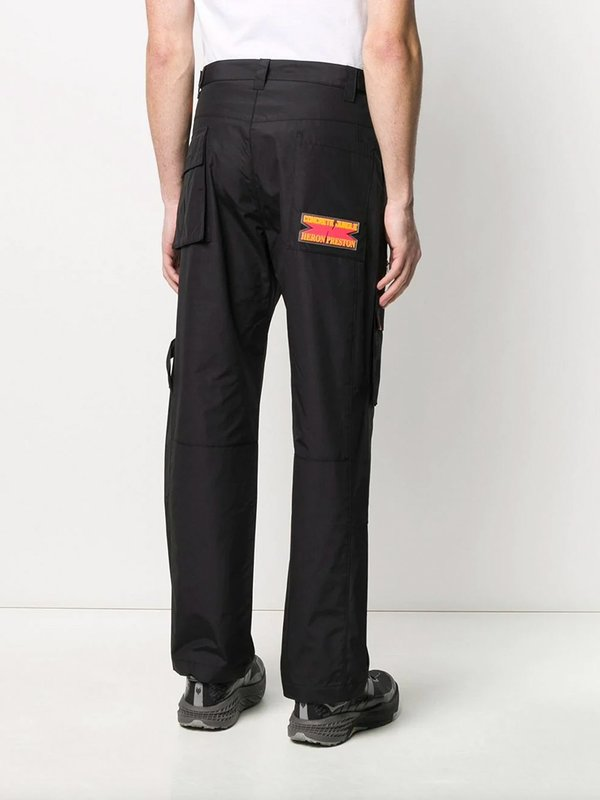 Loose-Fit Cargo Trousers