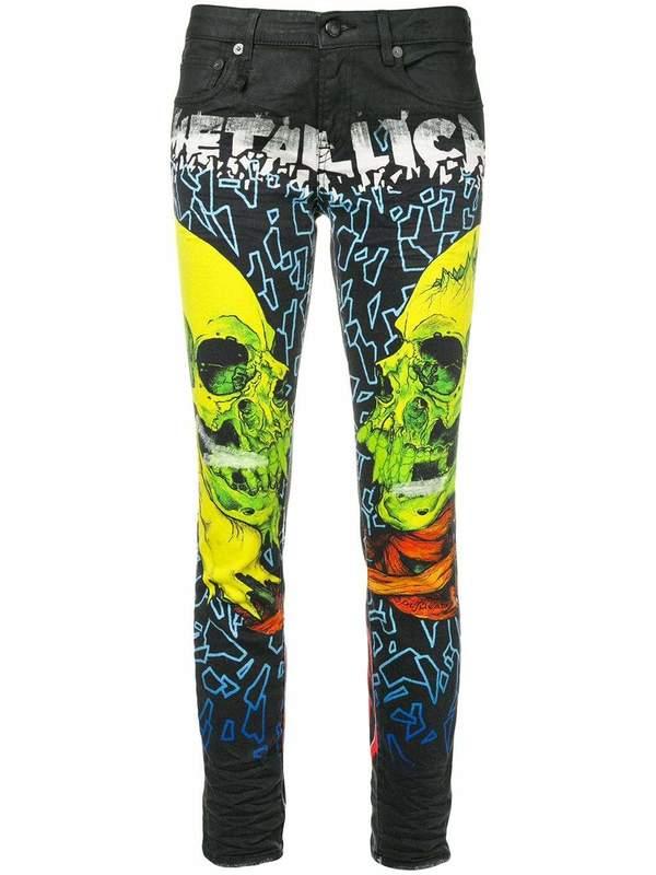 R13 Metallica Skinny Jeans