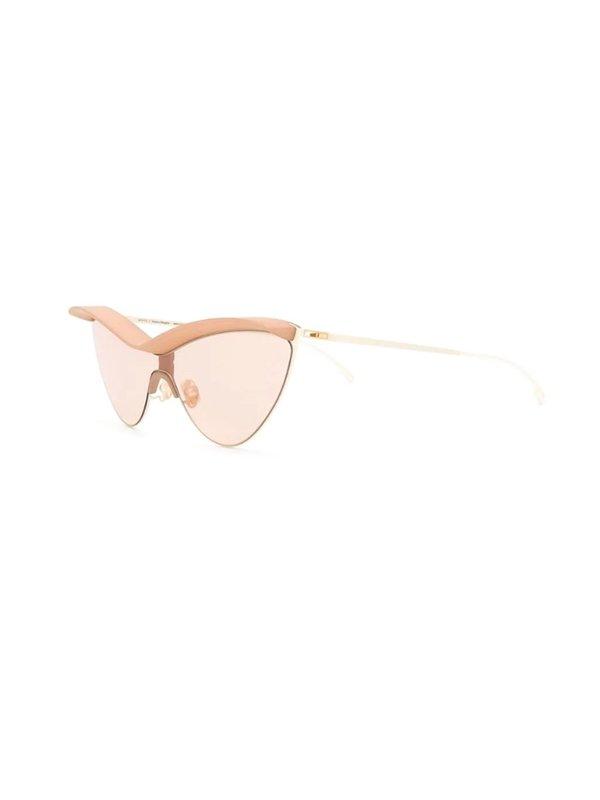 MYKITA X Maison Margiela Visor Frame Sunglasses