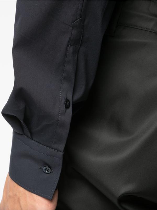 Navy Tie Shirt