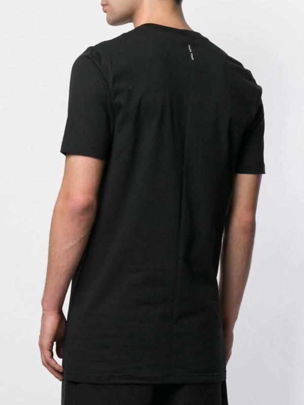 Damir Doma Printed Longline T-Shirt - black