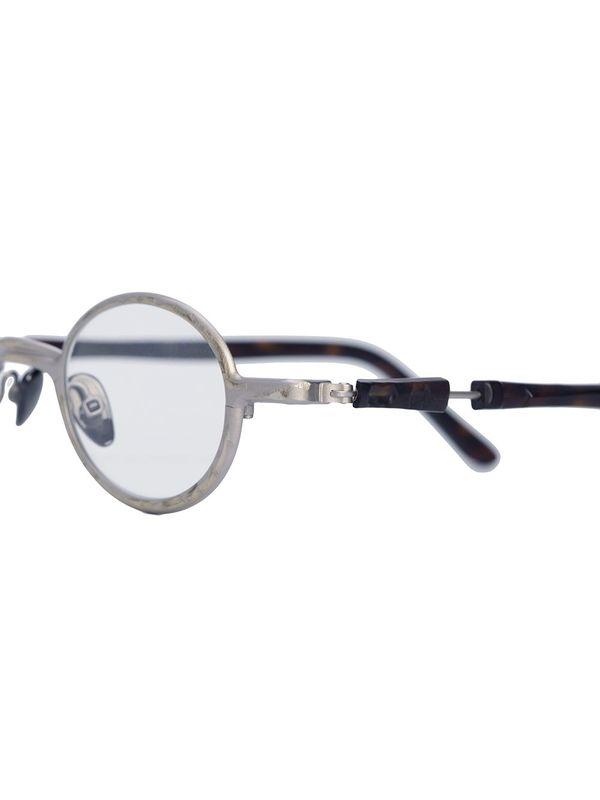 Round Silver Glasses