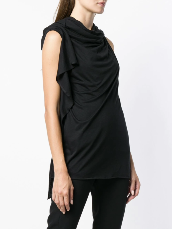 Ruched Sleeveless Iliad Top