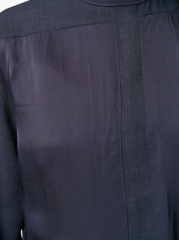Sheer Panel Shirt