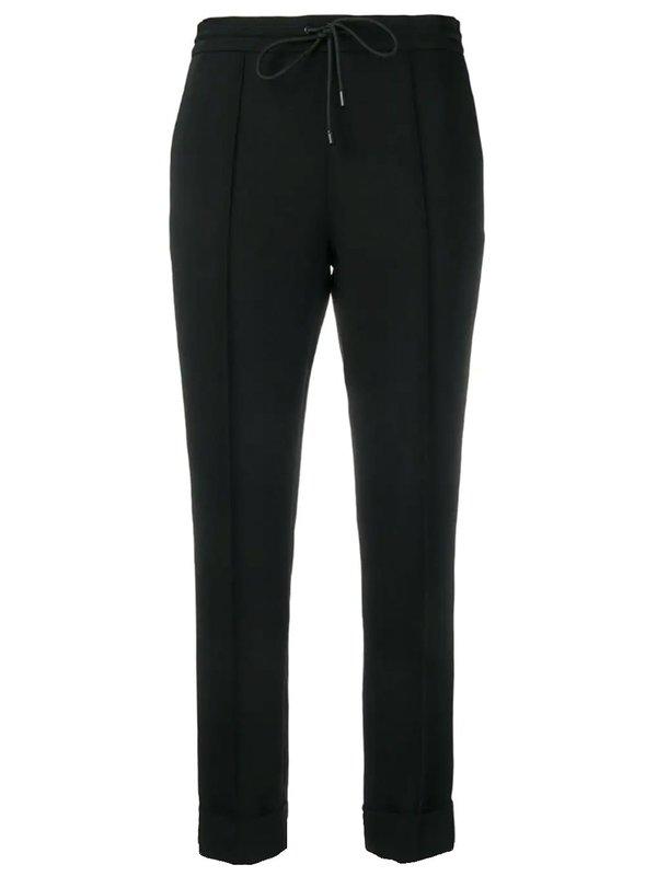 Slim Fit Drawstring Trousers