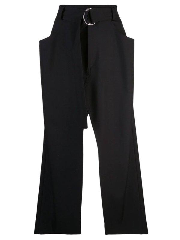 Slit Open Long Skirt