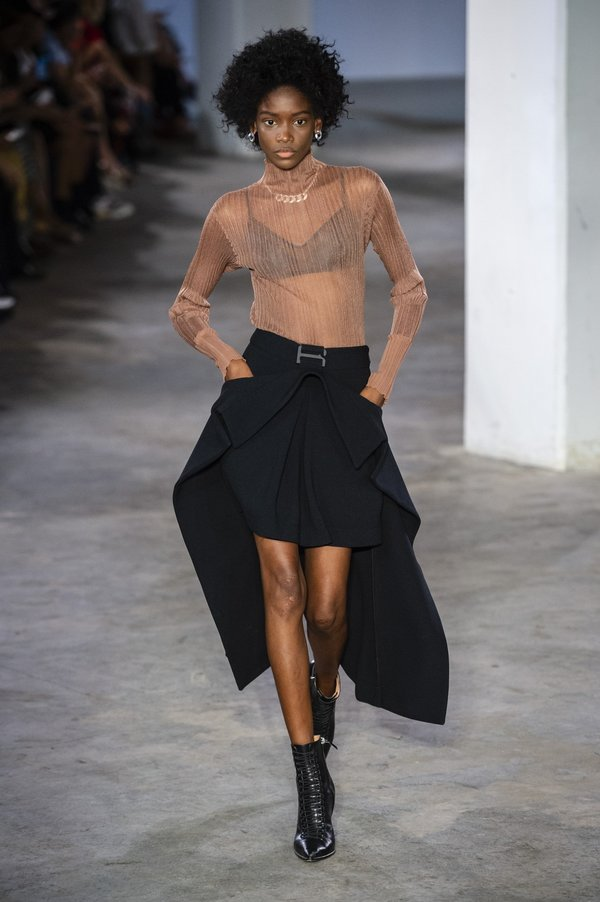Suspended Trench Skirt